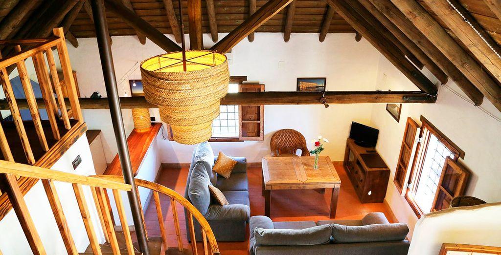 Casas con el estilo constructivo típico de la zona antiguamente, aprovechando los recursos de la marisma