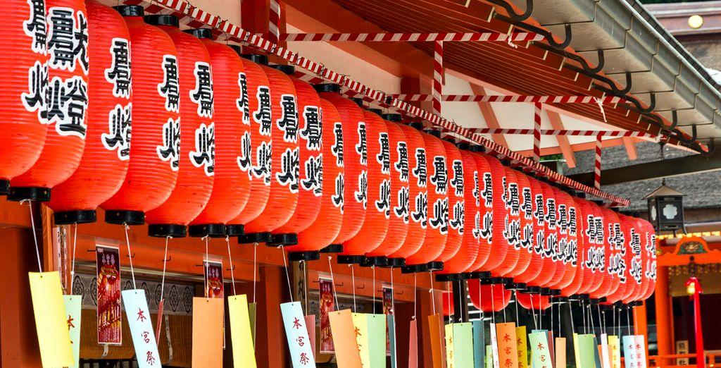 Déjese maravillar por Kyoto