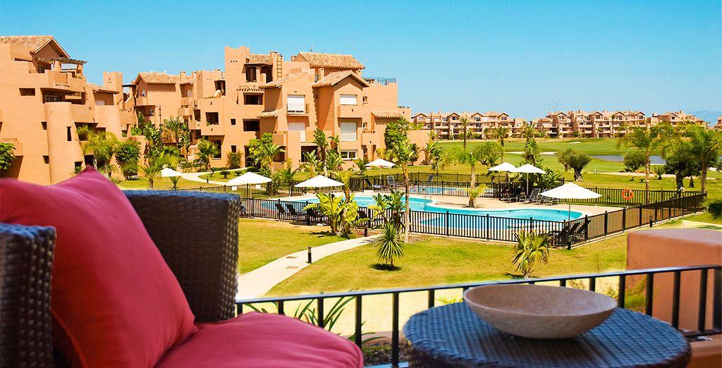 Calma y serenidad en tu apartamento en The Residences At Mar Menor Golf & Resort