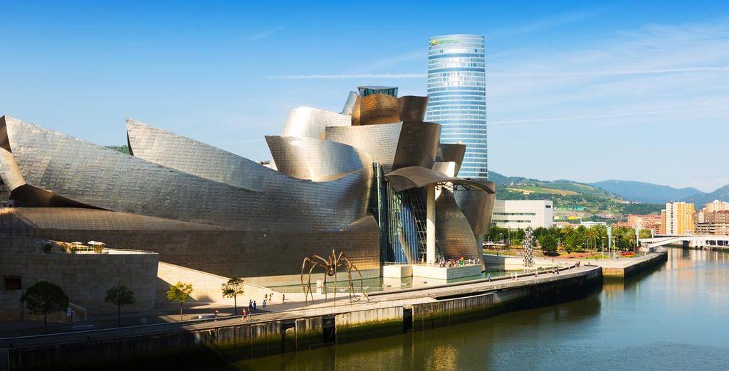 Bilbao vacaciones, actividades a ver y haver, museo Guggenheim