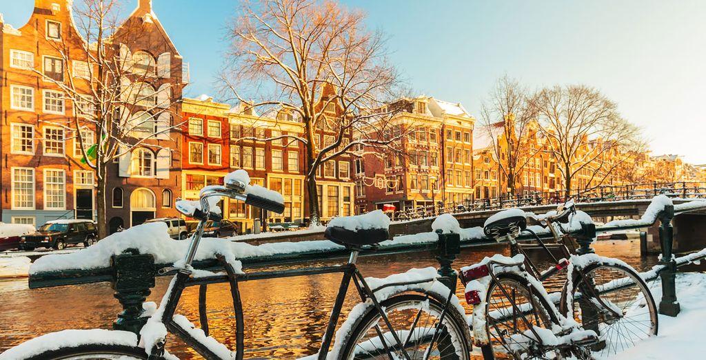 Descubre la capital neerlandesa este invierno