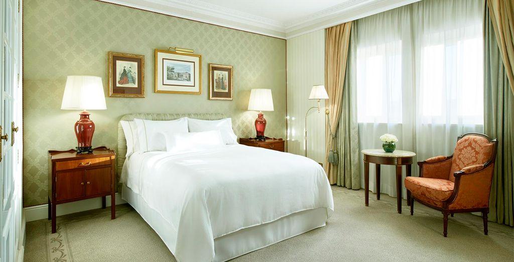 Gozarás de una mejora a una habitación Premium Deluxe
