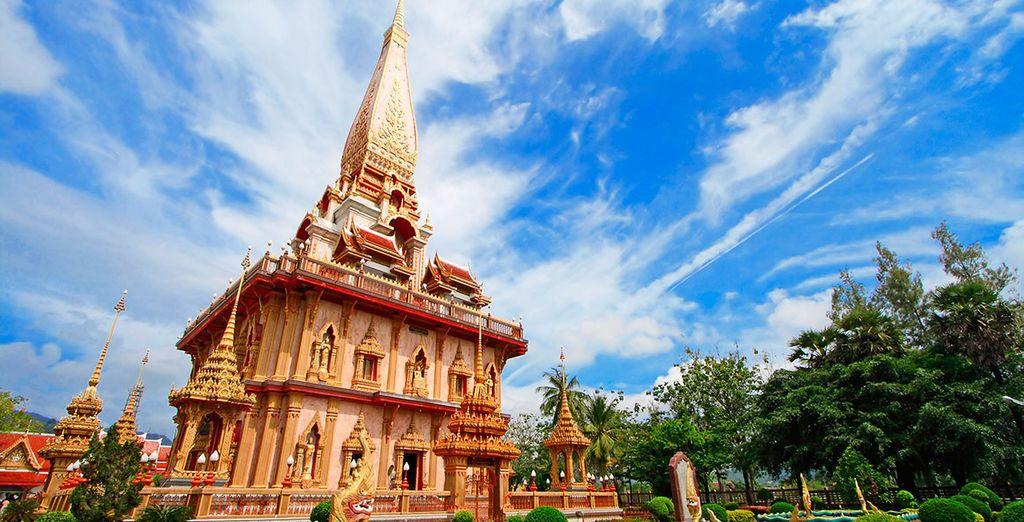 Encontrarás tradición y cultura... ¡Acércate al Templo de Chaithararam!