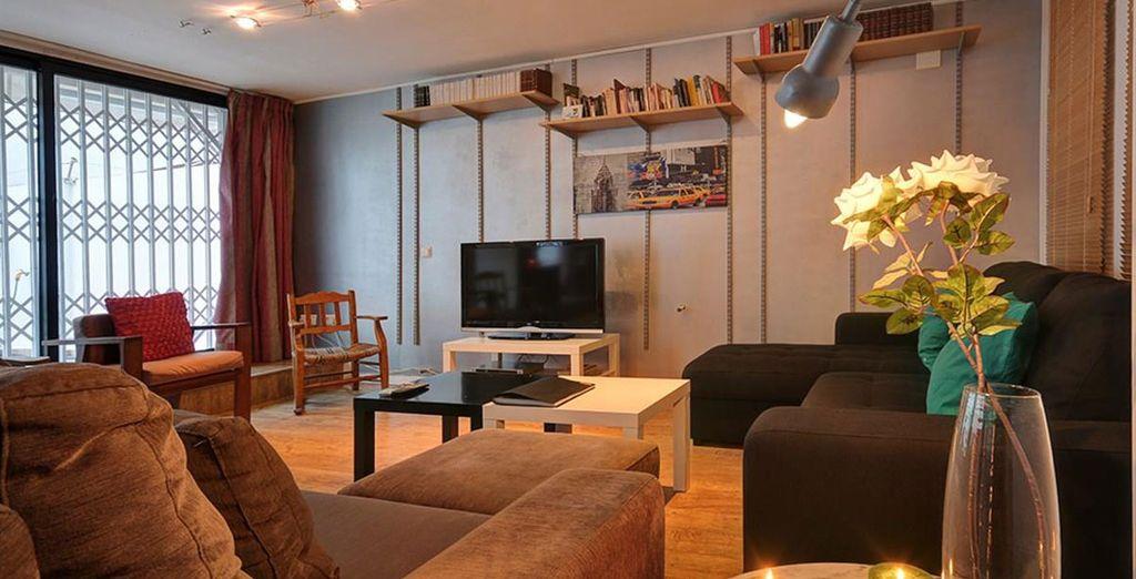 Apartamento 4: el salón