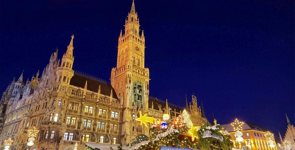 Mercadillos de Navidad en Múnich