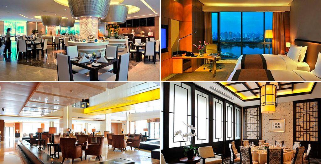 Guoman Hotel Shanghai 5*, un alojamiento con estilo