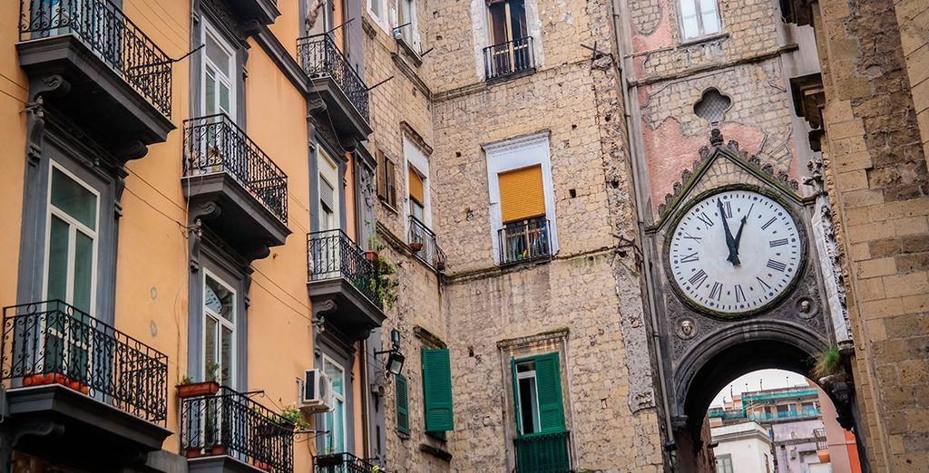 Recorre las pintorescas calles de la ciudad