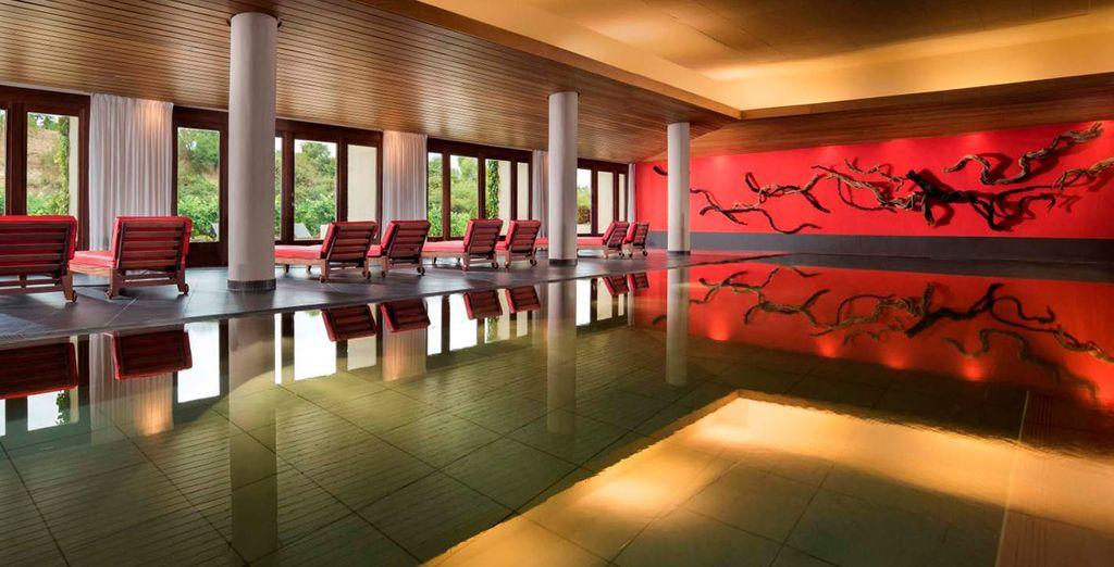 Un espacio ideal para relajarte y disfrutar de las propiedades nutritivas de salud y belleza de la uva