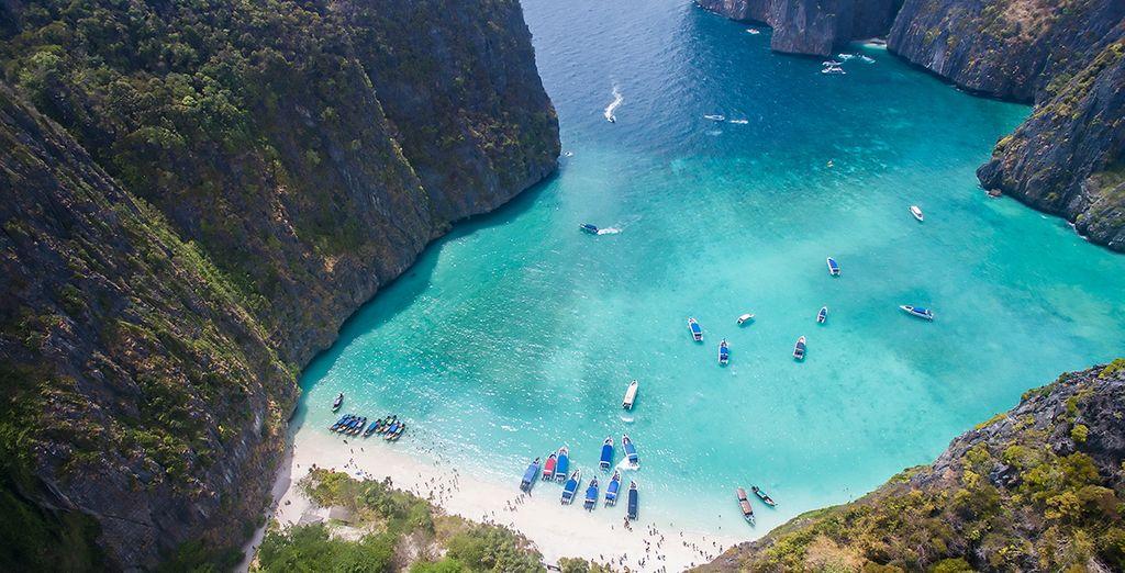Días de tranquilidad, sol y alegría, aprovecha para visitar las islas Phi Phi