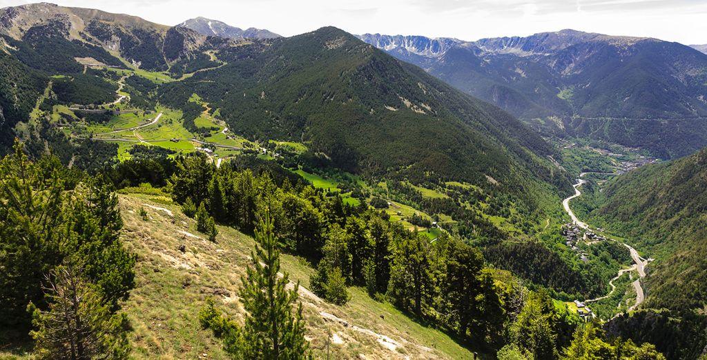 Visite Andorra y pase una tarde de compras