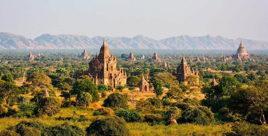 En Bagan te alojarás 2 noches
