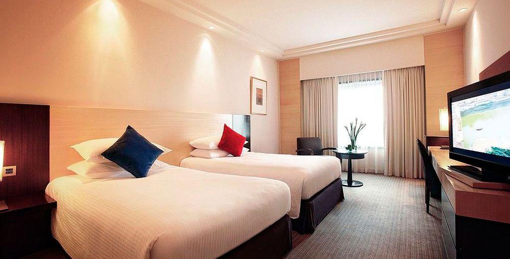 Te presentamos tu habitación Deluxe en Parkroyal Kuala Lumpur 5*
