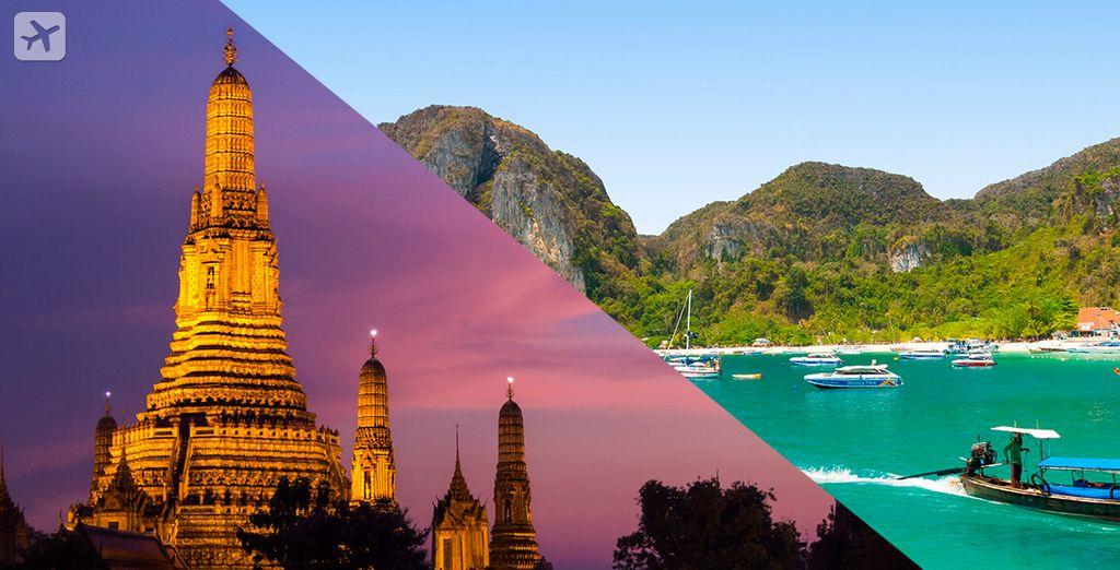 Comience un viaje inolvidable a Tailandia