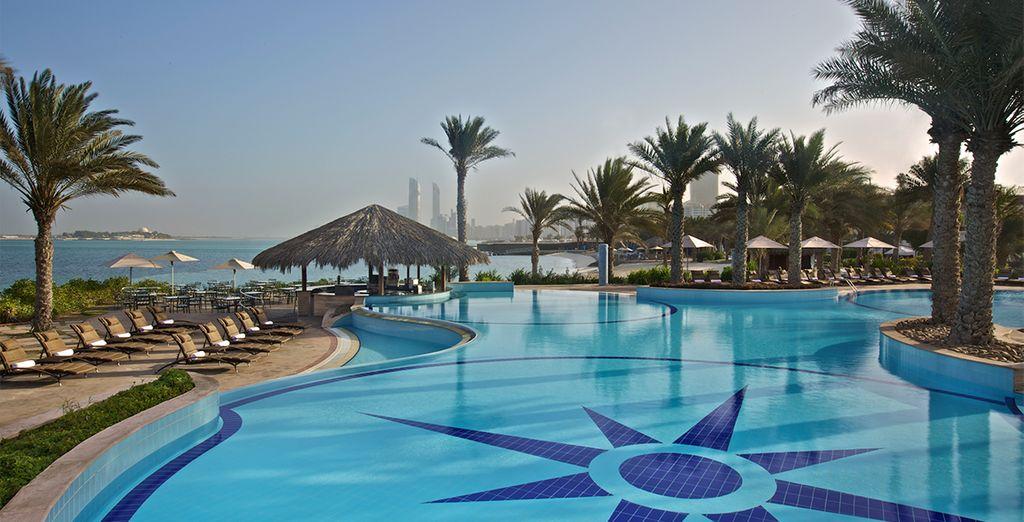 Bienvenido al Hotel Hilton Abu Dhabi
