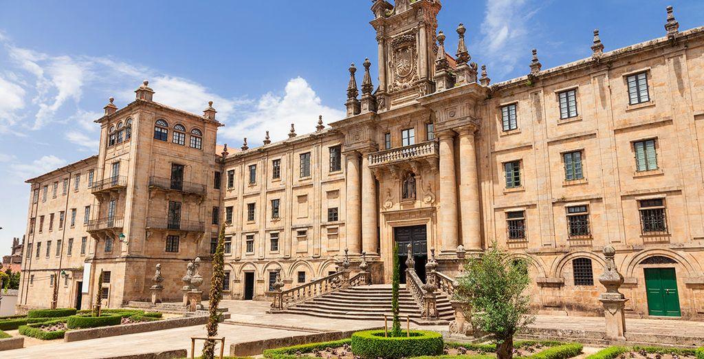 Venga a conocer la ciudad de Santiago de Compostela