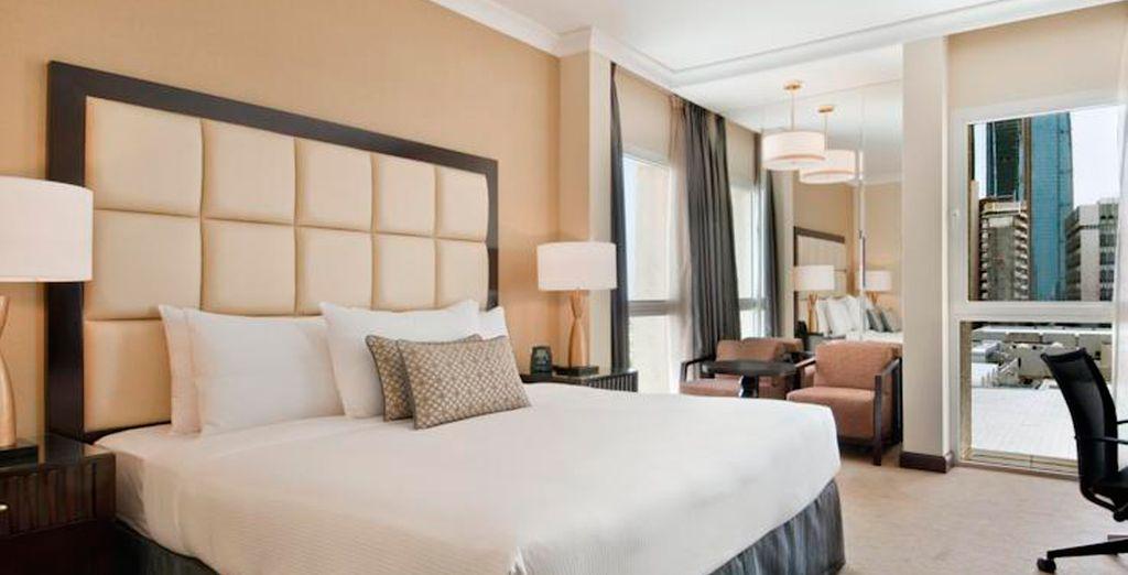 Su habitación Hilton Guest vista mar le espera