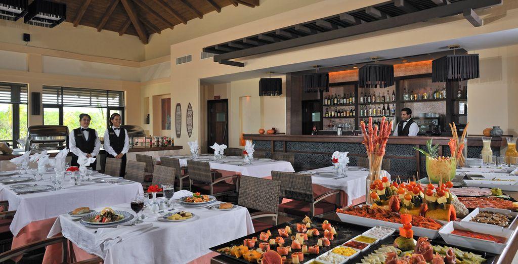...preparada en los diversos restaurantes que tiene el hotel