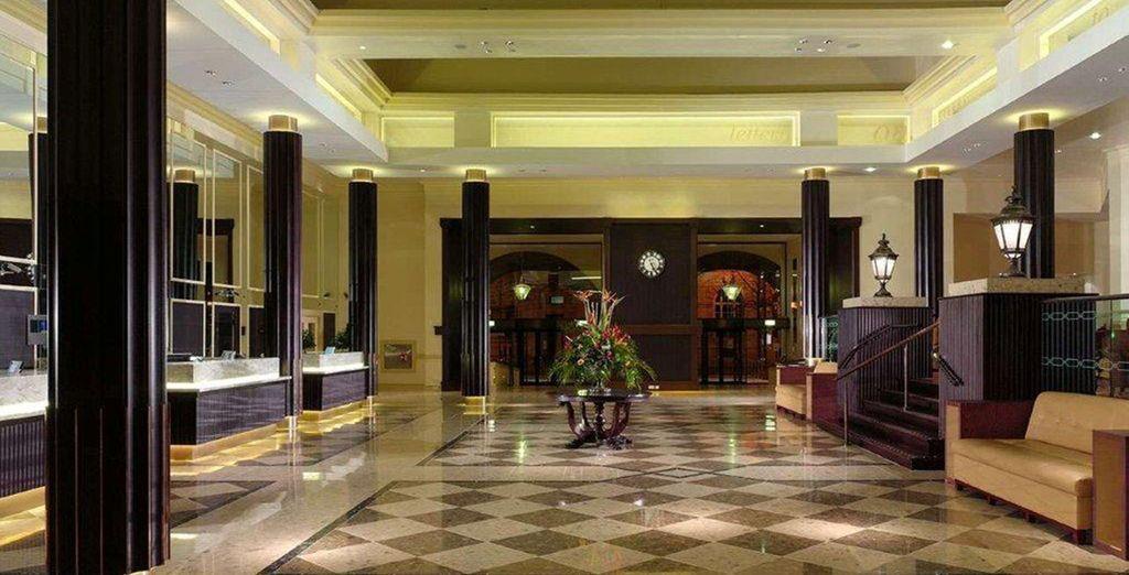 Interiores amplios y de lujo