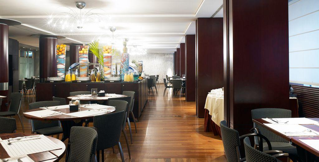 Salones de desayunos amplios para su disfrute