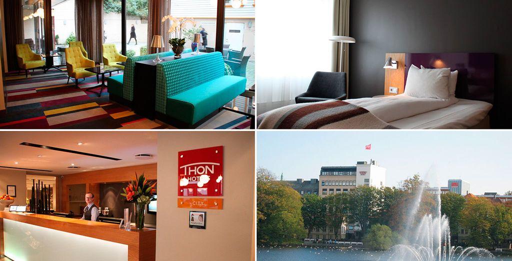 En Stavanger te alojarás en el Thon Hotel Maritim 4*