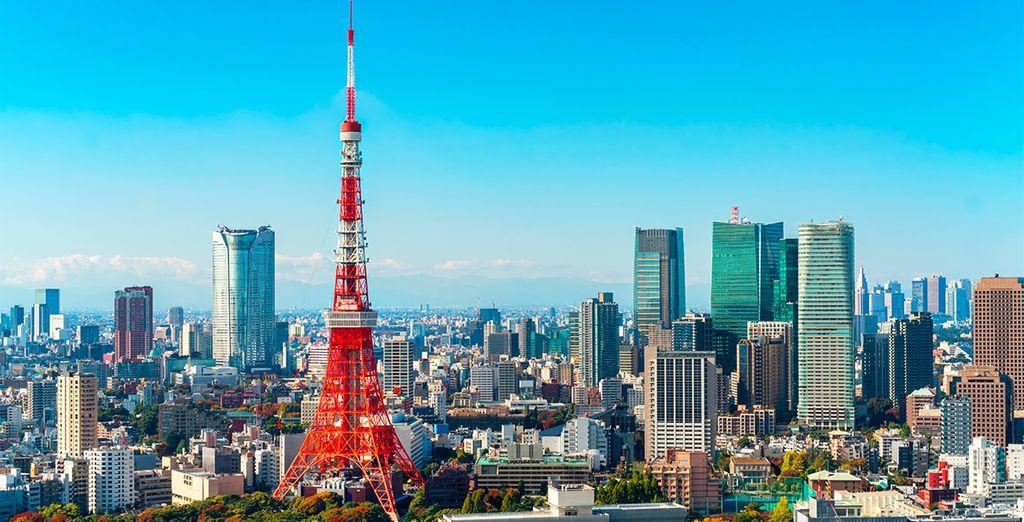 El octavo día de tu viaje dispondrás de tiempo libre para disfrutar de la capital japonesa, Tokyo