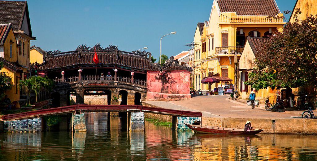 Visite la antigua ciudad de Hoi An y recorra sus calles