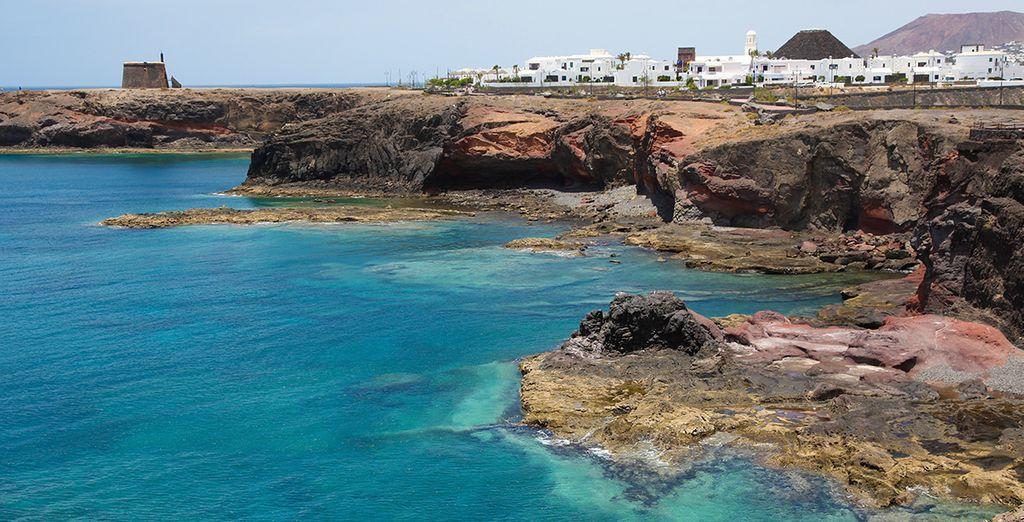 Playa Blanca se encuentra muy cerca del hotel