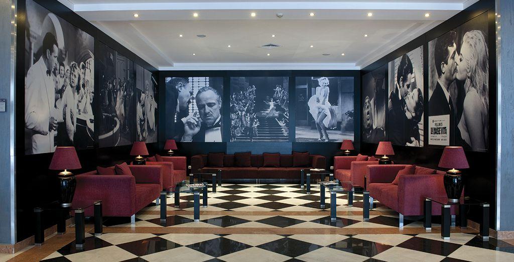 Un hotel inspirado en las peliculas...