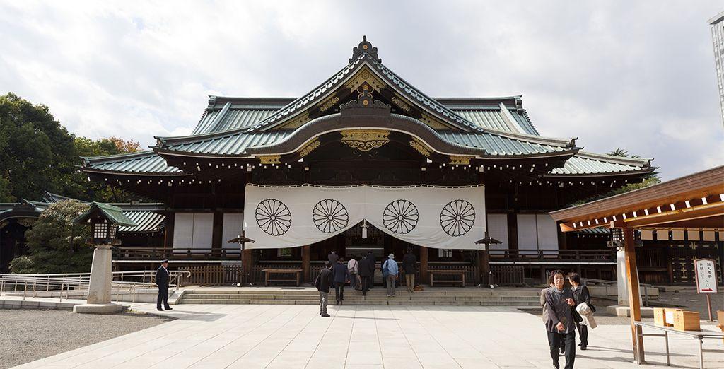 Santuario de Meiji en Tokio