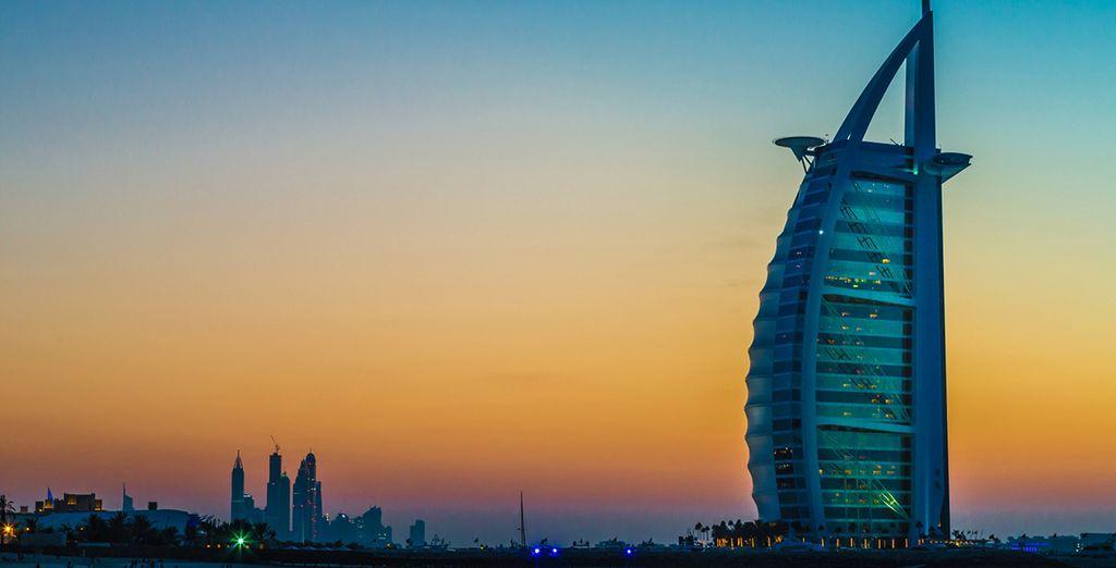 Venga a visitar Dubái y...