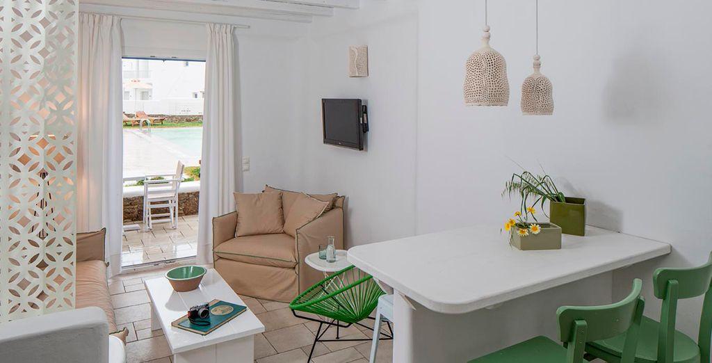 Un alojamiento perfecto para sus vacaciones