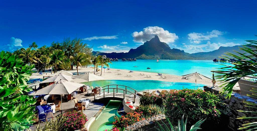 Le Meridien Bora Bora 5* un paraíso sin igual