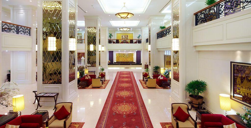 La recepción le darán la bienvenida que se merece, Hotel Grande Centre Point