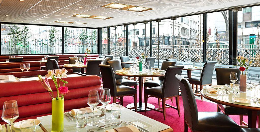 El restaurante La Fayette elabora cocina francesa moderna
