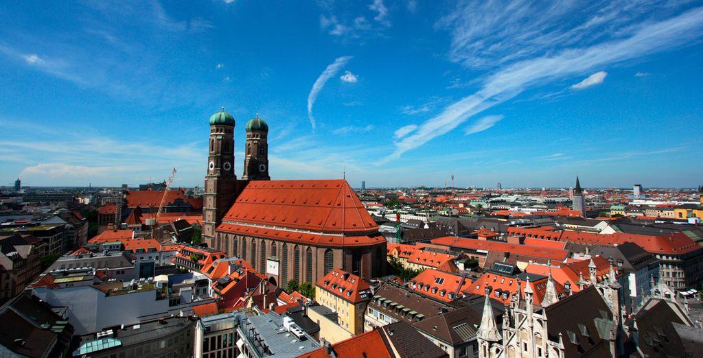 Fantastica arquitectura de Munich...