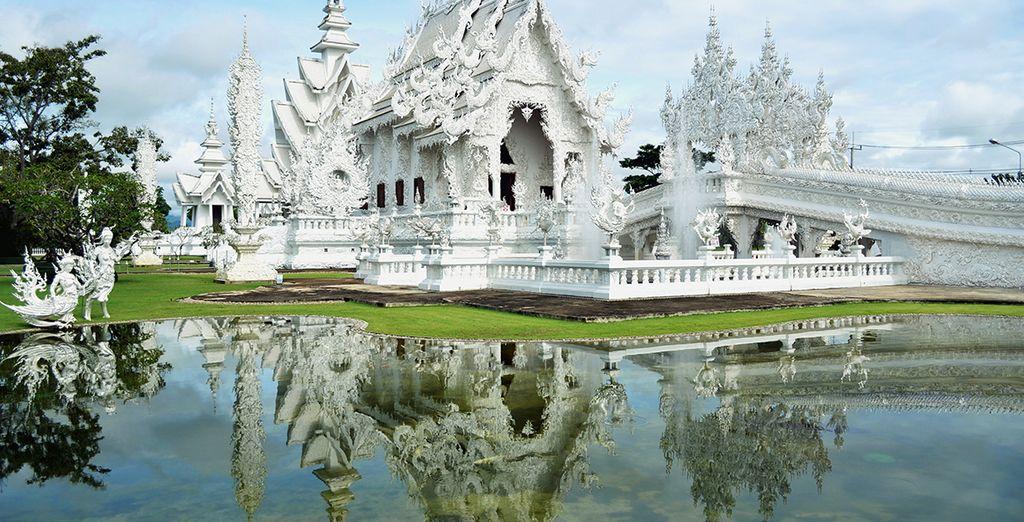 El Templo Blanco en Chiang Rai