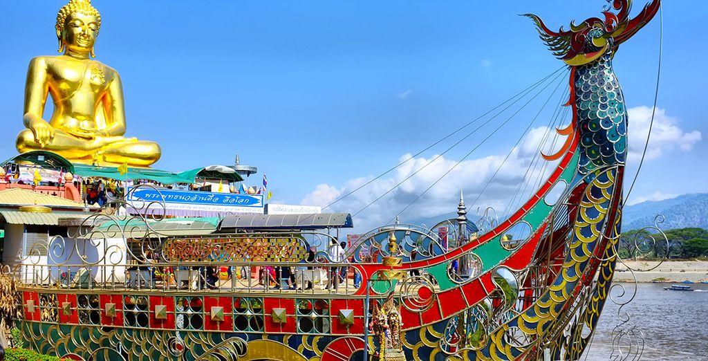Chiang Rai es la ciudad más mística y genuina gracias a su ubicación en las montañas