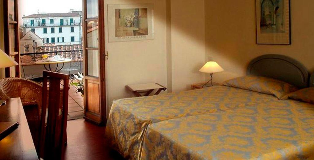 Hotel Palazzo Ricasoli 4*, Florencia