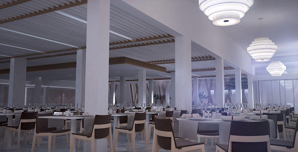 Un restaurante moderno y contemporáneo