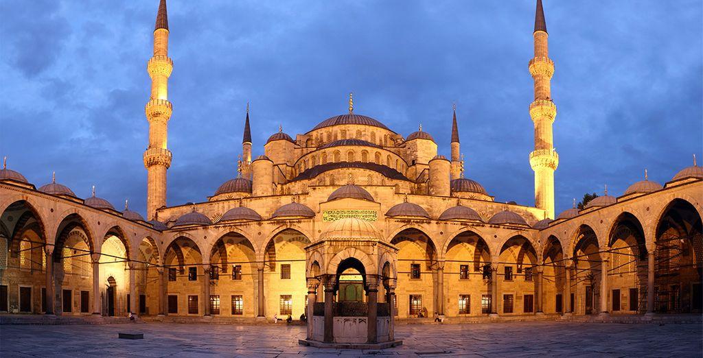 La Mezquita Azul, una atmósfera especial
