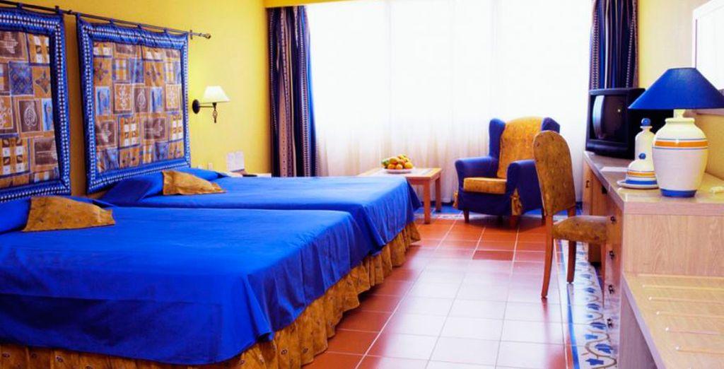 En el Hotel Memories Miramar 4* le espera su acogedora habitación