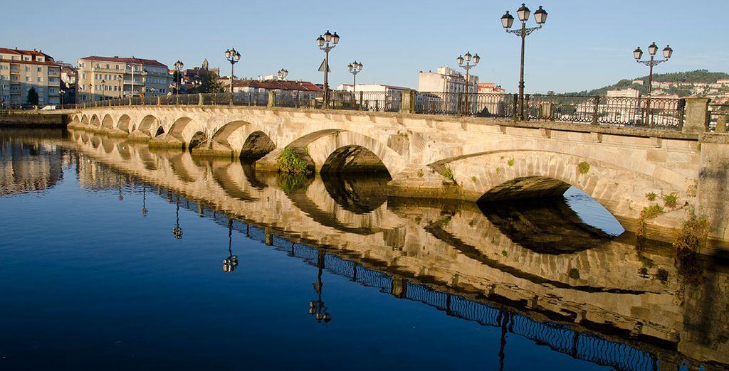 El entorno está lleno de un rico legado histórico...
