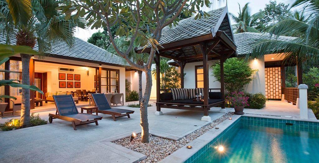 Se alojará en una confortable y lujosa Villa