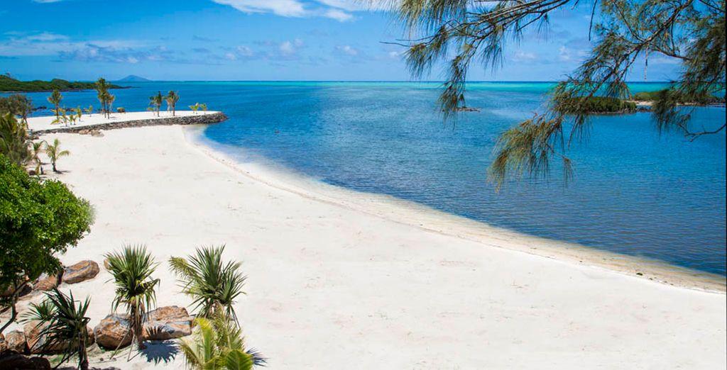 Ubicado en la costa norte de la isla de Mauricio