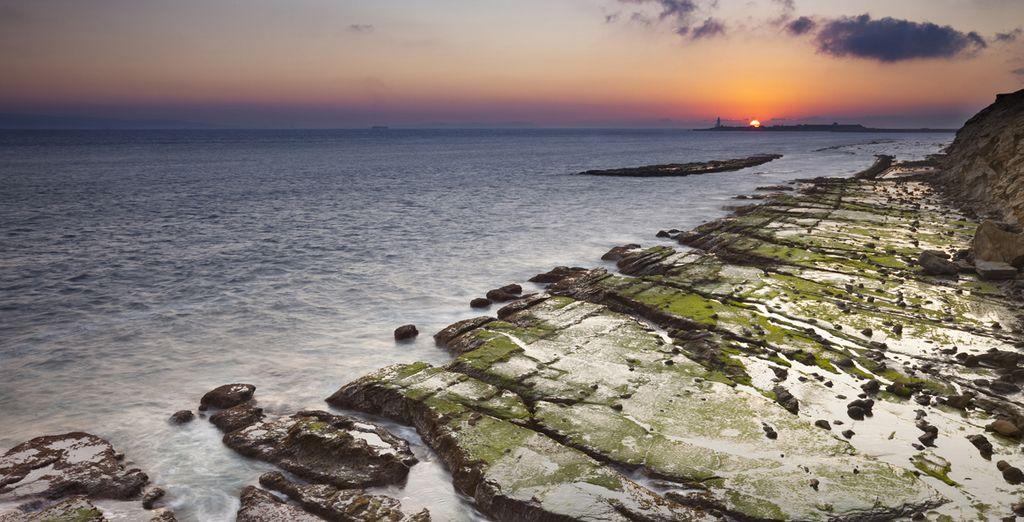 A pocos kilómetros de las cristalinas aguas de Tarifa