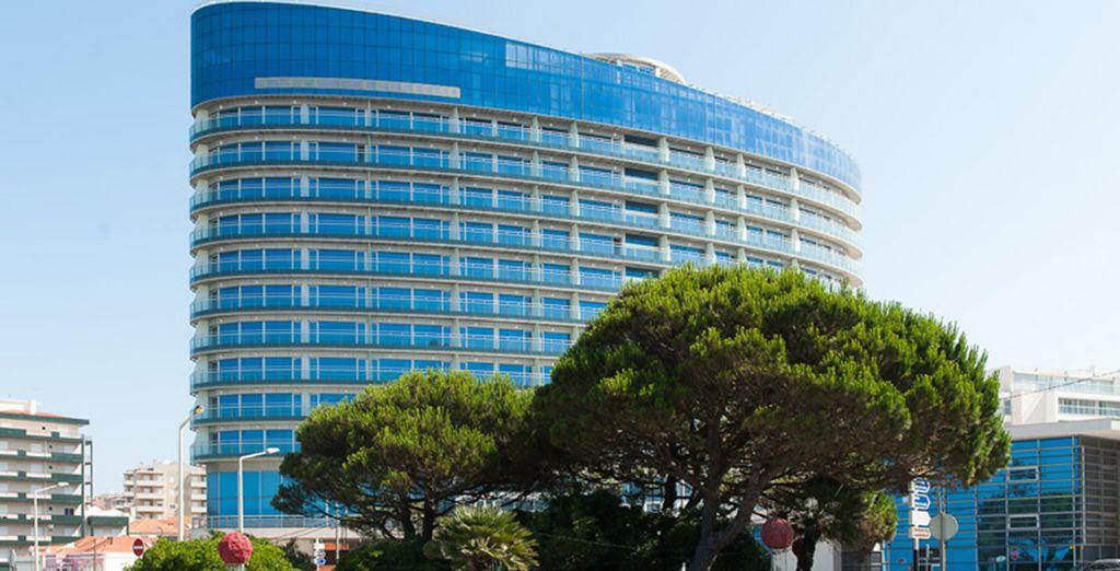 Un hotel moderno de nueva apertura
