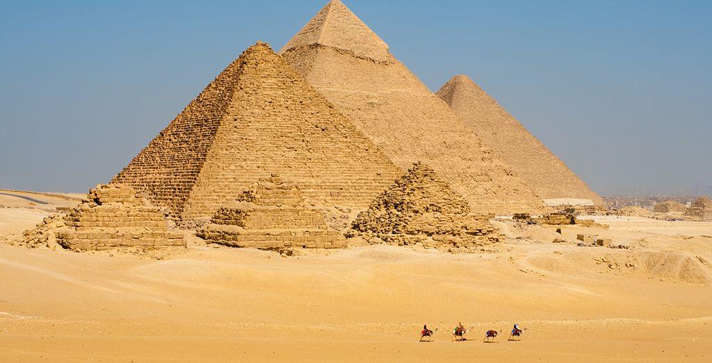 Las pirámides conservan los tesoros del antiguo Egipto