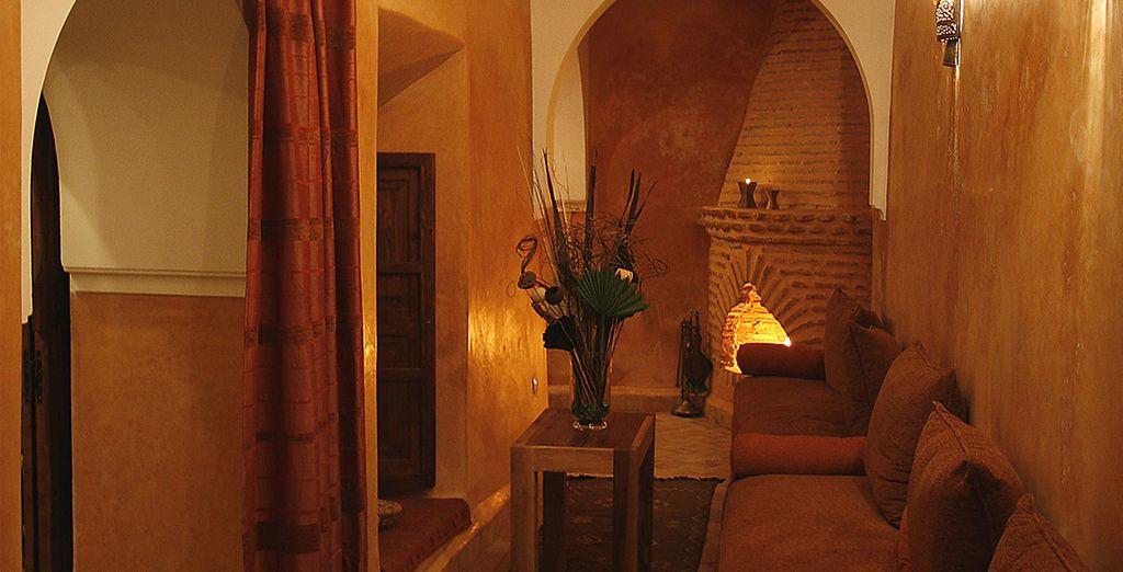 Las habitaciones tienen una decoración temática inspirada en los 5 elementos naturales