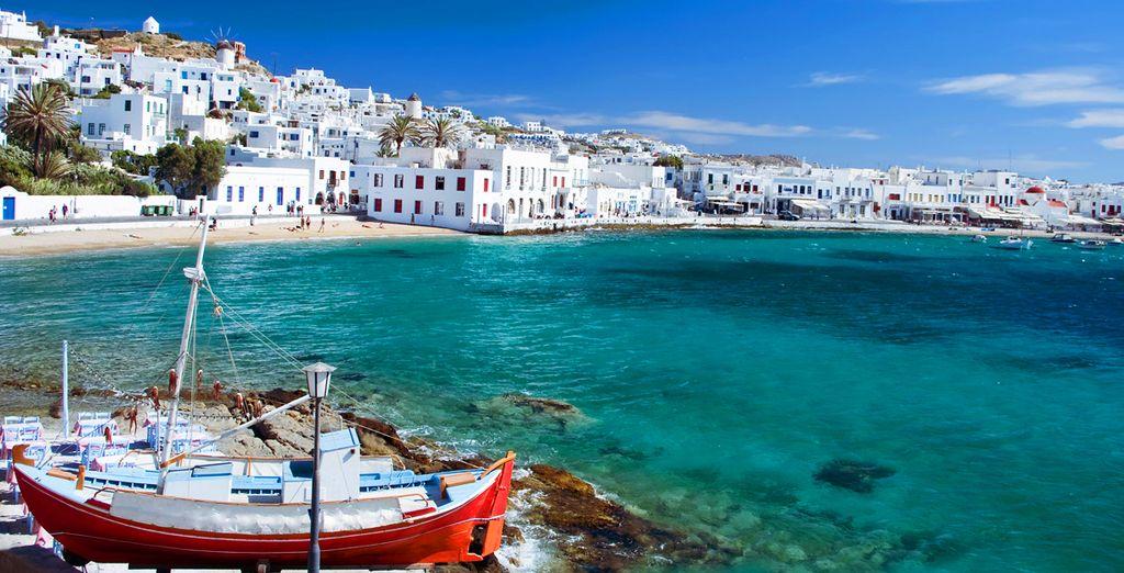 Un viaje en crucero con estancia en Atenas