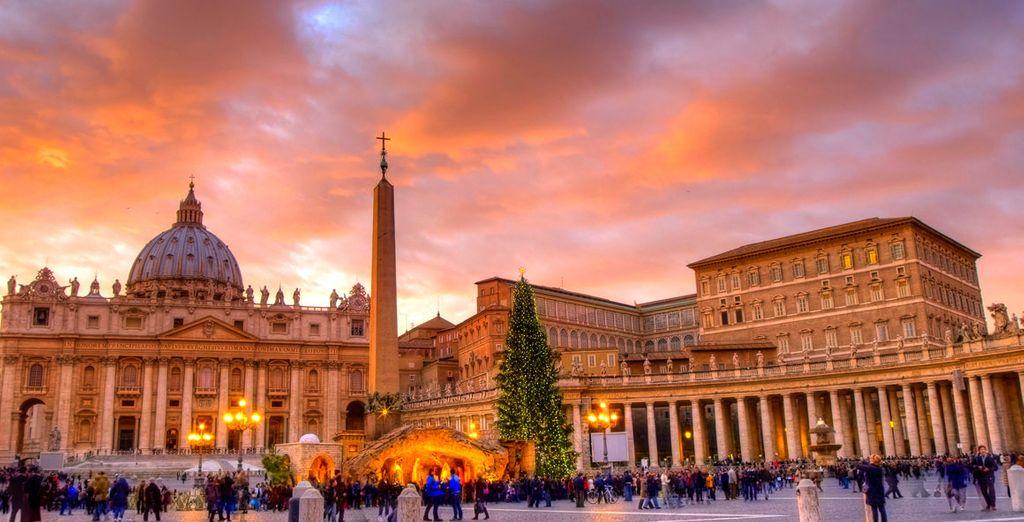 No se vaya sin visitar la Basílica de San Pedro y el Vaticano